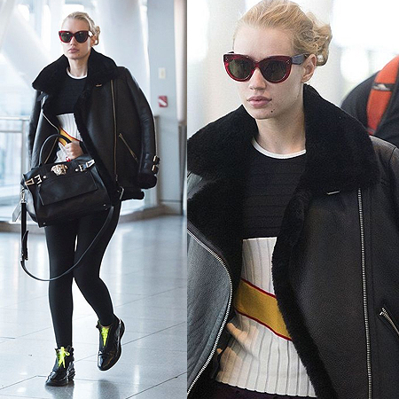 Iggy Azalea JFK Airport New York October 26