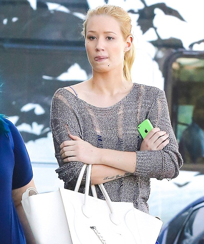 Iggy Azalea out in California