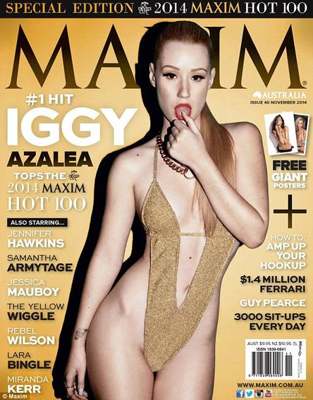 Iggy Azalea Maxim Australia