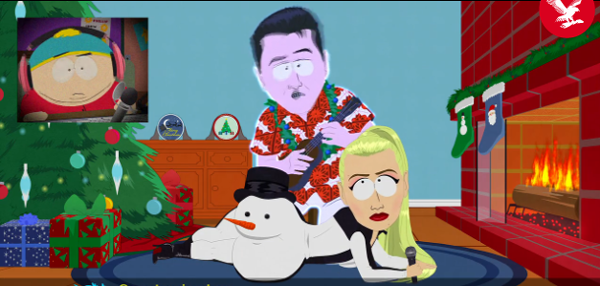 Iggy Azalea on South Park Season Finale